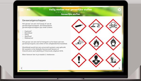 werken met gevaarlijke stoffen